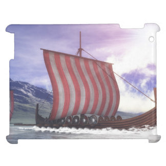 Drakkars - 3D render iPad Covers