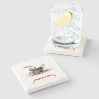 Dram session 2 stone beverage coaster