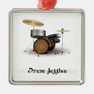 Dram session metal ornament