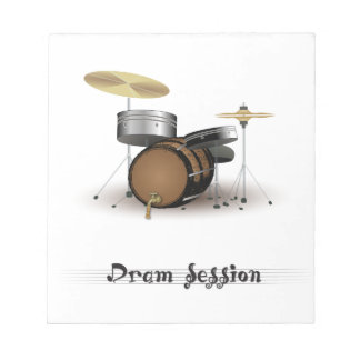 Dram session notepad