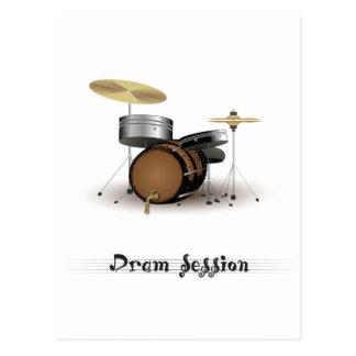 Dram session postcard