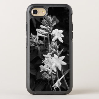 Drama B&W Flowers iPhone 8/7 Case