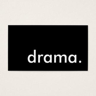 drama. business card