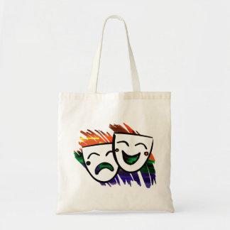 Drama Color Splash Tote Bag