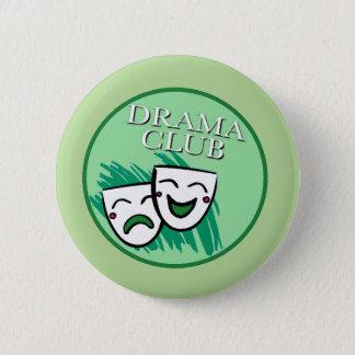Drama Cub Badge in Green 2 Inch Round Button