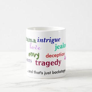 drama emotions mug