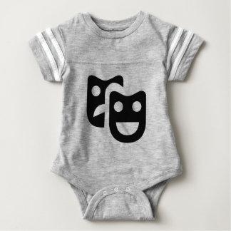 Drama Faces Baby Bodysuit