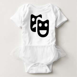 Drama Faces Baby Bodysuit