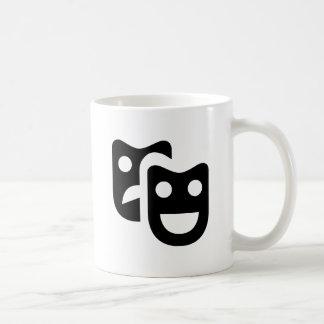 Drama Faces Coffee Mug