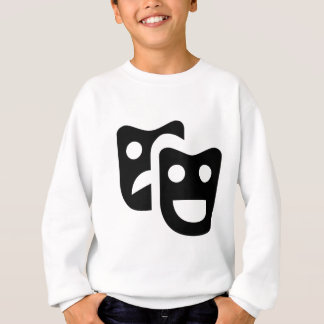 Drama Faces Sweatshirt