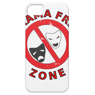 Drama Free Zone Case For The iPhone 5