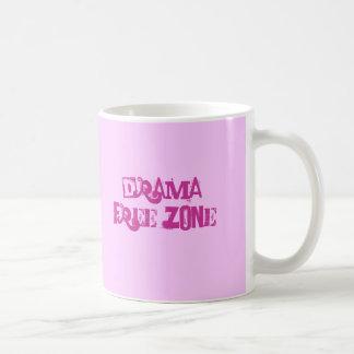 drama free zone coffee mug
