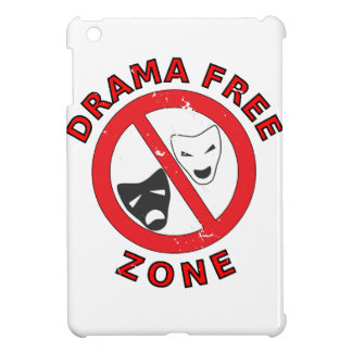 Drama Free Zone iPad Mini Cases