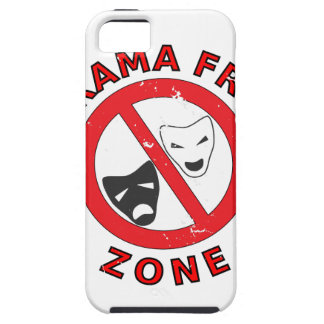Drama Free Zone iPhone 5 Cover