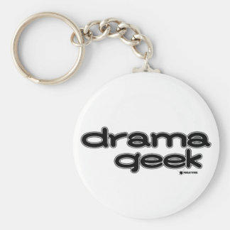 Drama Geek Keychain