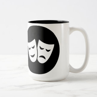 Drama Ideology Two-Tone Coffee Mug