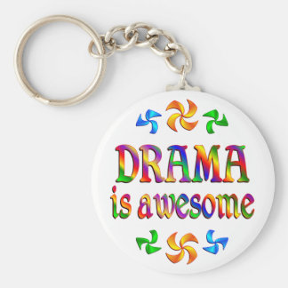 Drama is Awesome Keychain