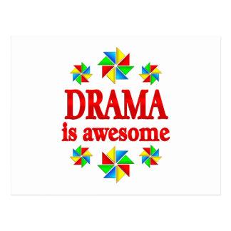 Drama is Awesome Postcard