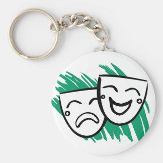 Drama Keychain
