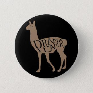 Drama Llama 2 Inch Round Button