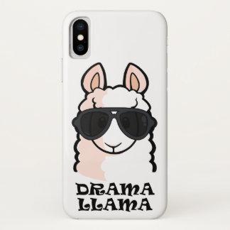 Drama Llama iPhone X Case