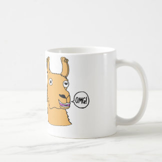 Drama Llama Mug Hand-drawn Cute Cartoon