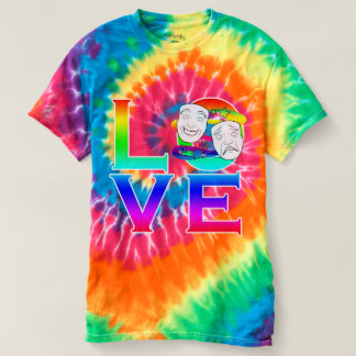 Drama Love with Masks T-shirt