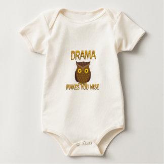 Drama Makes You Wise Baby Bodysuit