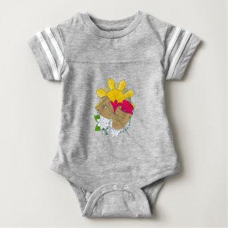 Drama Mask Philippine Sun Hibiscus Sampaguita Flow Baby Bodysuit