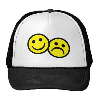 Drama Mask Smiley's Trucker Hat