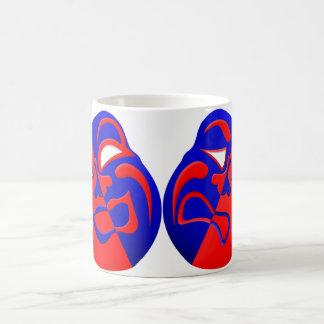 Drama Masks Coffee Mug