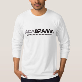 Drama Musik Entertainment aka Drama grey, long T-Shirt