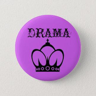 DRAMA Queen 2 Inch Round Button