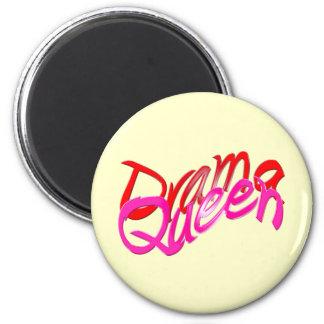 Drama Queen 2 Inch Round Magnet