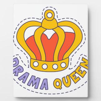 Drama Queen Crown Plaque