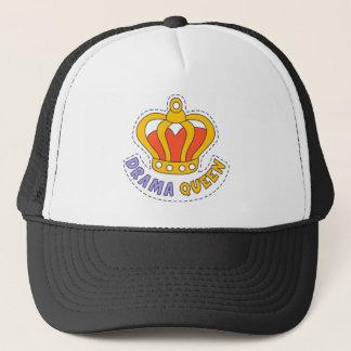 Drama Queen Crown Trucker Hat