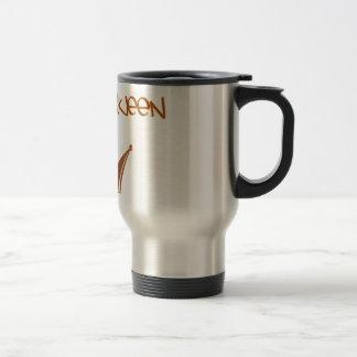 drama queen [] travel mug