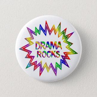 Drama Rocks 2 Inch Round Button