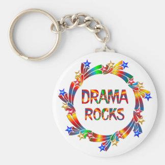 Drama Rocks Keychain