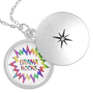 Drama Rocks Locket Necklace