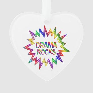 Drama Rocks Ornament