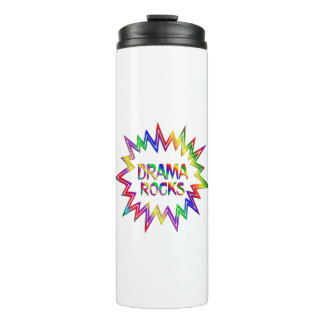 Drama Rocks Thermal Tumbler