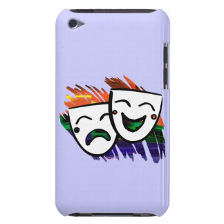 Drama: Splash of Color iPod Touch Case-Mate Case