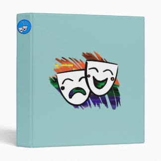 Drama: Splash of Technicolor Vinyl Binders
