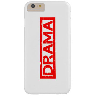 Drama Stamp Barely There iPhone 6 Plus Case