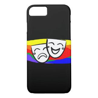 Drama: the Rainbow Swirls iPhone 8/7 Case