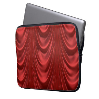 Drama Theatre Stage Curtains Acting Red Theater Laptop Computer Sleeves