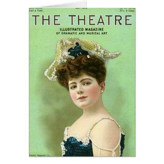 Dramatic Actress Card