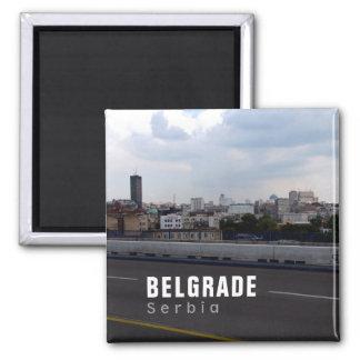 Dramatic Belgrade, Serbia Magnet