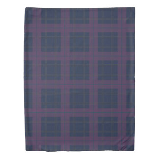 Dramatic Check Duvet Cover